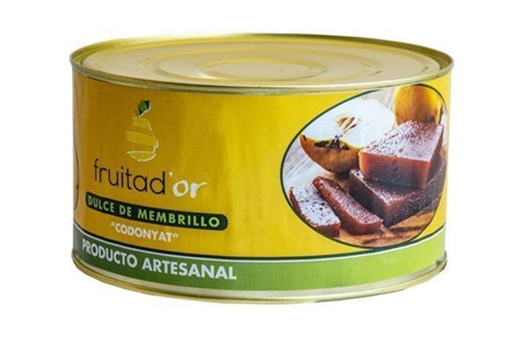 Membrillo Artesano Fruita D'or, lata de 5 kg
