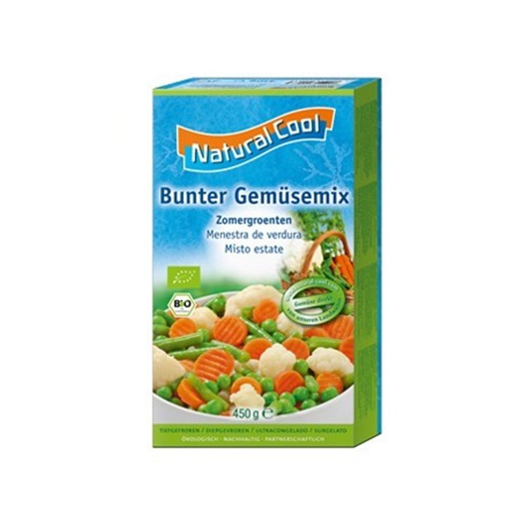 Menestra de Verduras Congelados, 450 gr