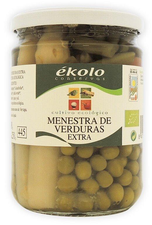 Menestra Ecológica De Verduras, 450 gr