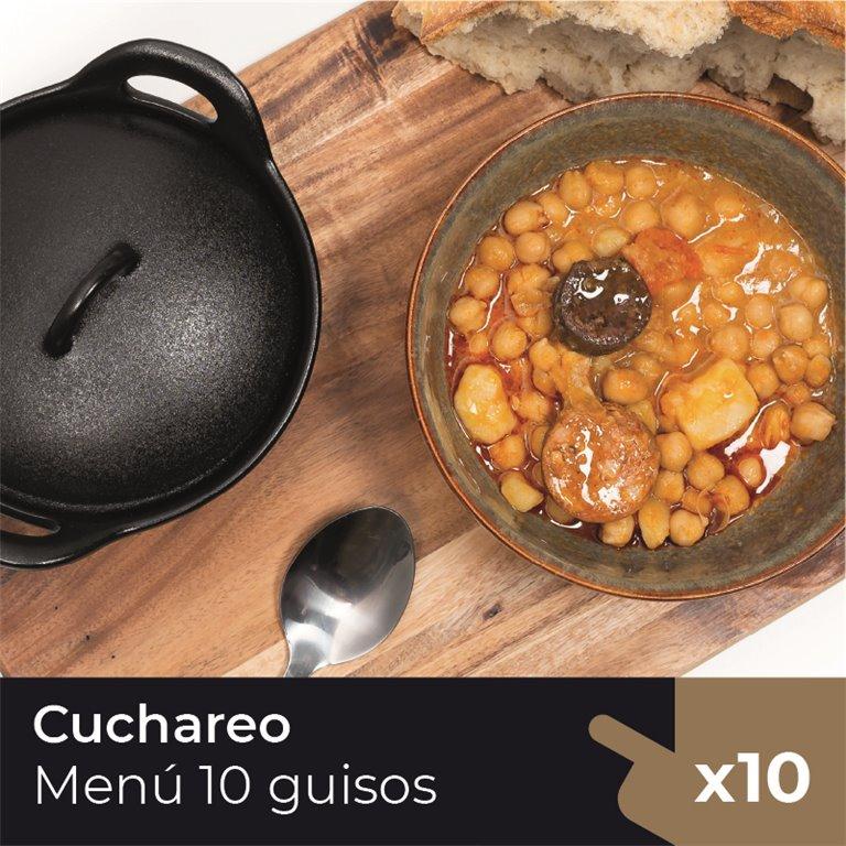 Menú Cuchareo (10 Guisos)