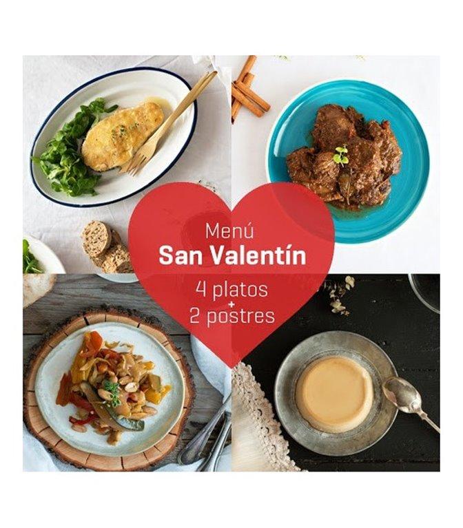 Menú de San Valentín, 1 ud