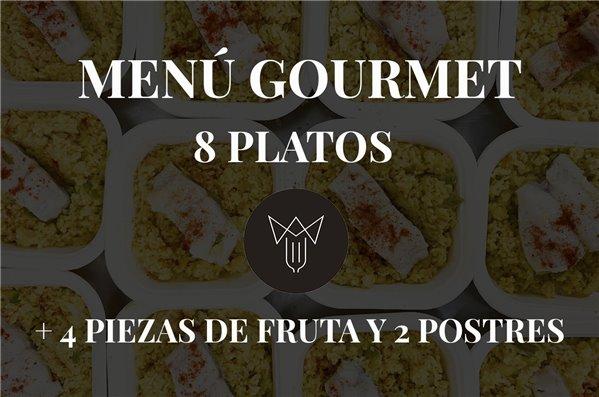 Menú Gourmet 8 platos