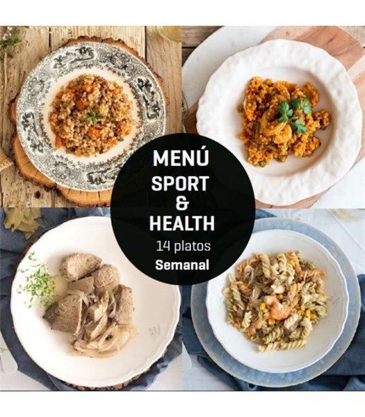 Menú Sport & Health 14 platos