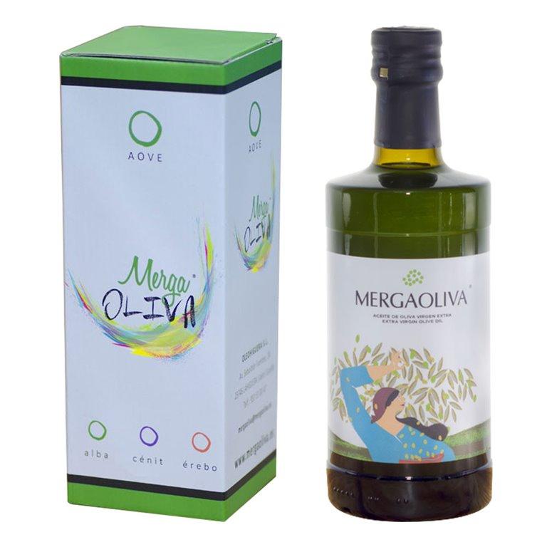 Mergaoliva - Alba - Picual - Estuche Botella 500 ml
