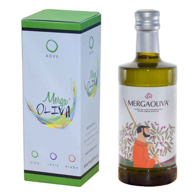 Mergaoliva - Cenit - Picual - 6 Estuches Botella 500 ml