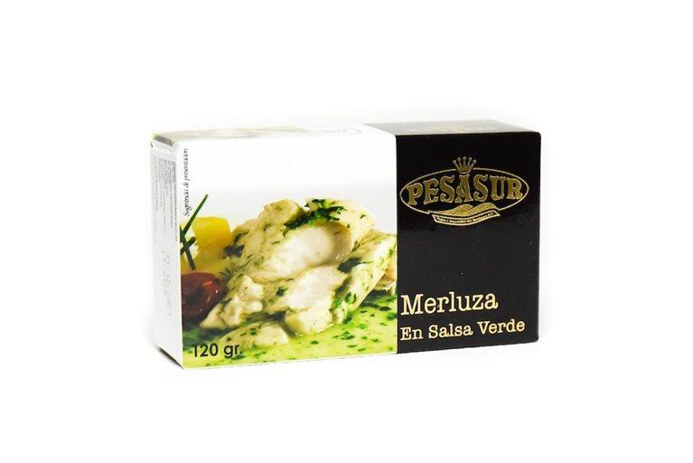 Merluza en salsa verde picante Pesasur