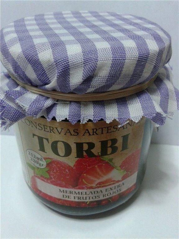 Mermelada artesana de frutos rojos, 1 ud