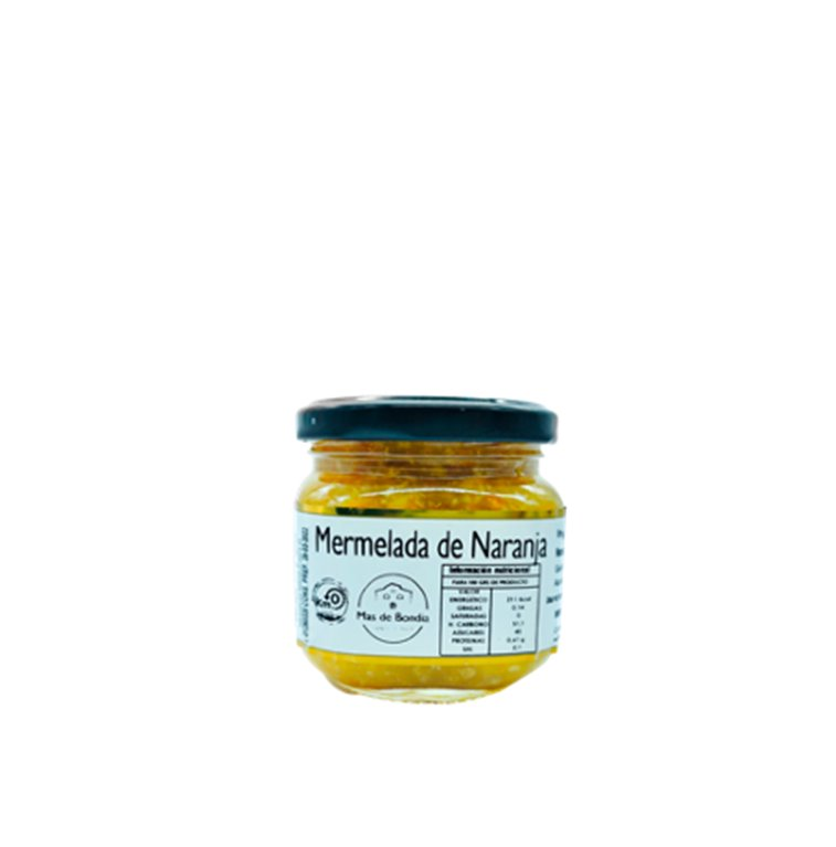 MERMELADA ARTESANAL DE NARANJA 200g