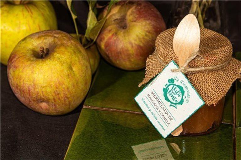 Mermelada casera de manzana y canela - 250gr
