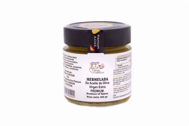 Mermelada de Aceite de Oliva Virgen Extra PREMIUM