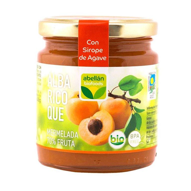 Mermelada de Albaricoque (con sirope de agave)