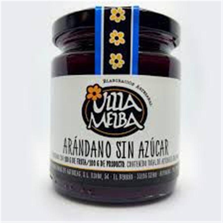 Asturian Blueberry Jam Asturias Sugar Free