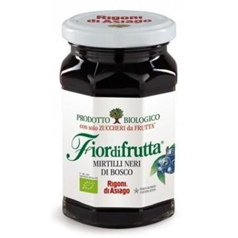 Mermelada de Arándanos Negros del Bosque (Sin Azúcar) Bio 250g, 1 ud