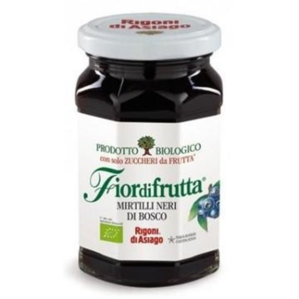 Mermelada de Arándanos Negros del Bosque (Sin Azúcar) Bio 250g