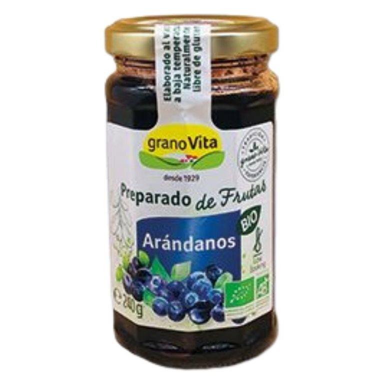 Mermelada de Arándanos (Sin Azúcar) Bio 240g