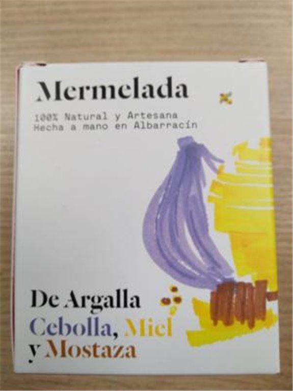 Mermelada De Argalla cebolla, miel y mostaza, 1 ud