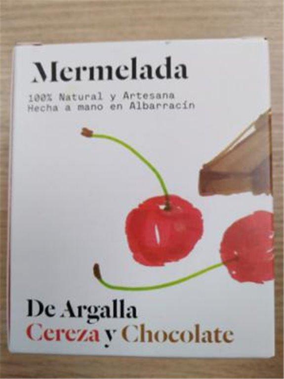 Mermelada De Argalla cereza y chocolate, 1 ud