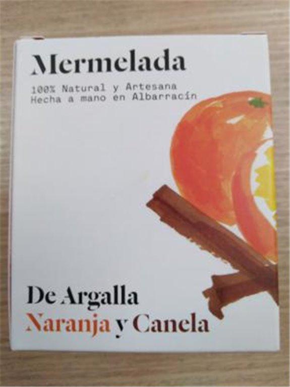 Mermelada De Argalla naranja y canela, 1 ud