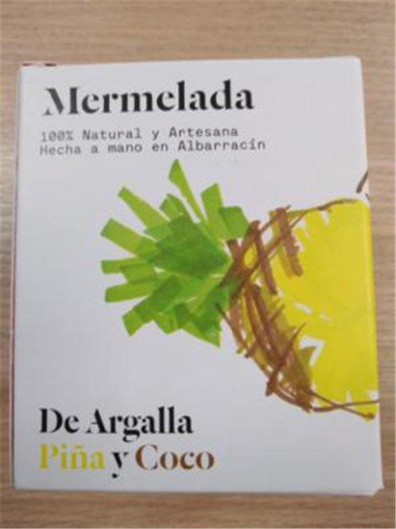 Mermelada De Argalla piña y coco, 1 ud