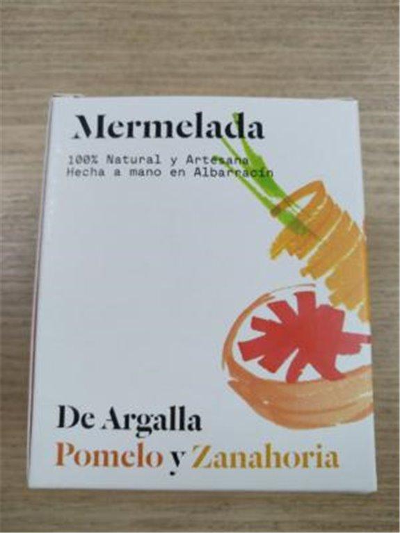 Mermelada De Argalla pomelo y zanahoria, 1 ud