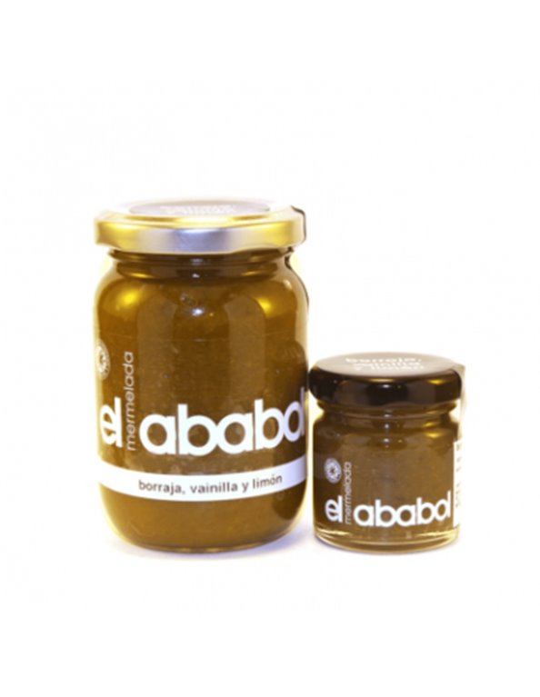 Mermelada de borraja con vainilla y limón Ababol