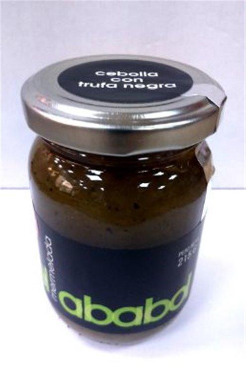 Mermelada de cebolla con trufa negra Ababol, 1 ud