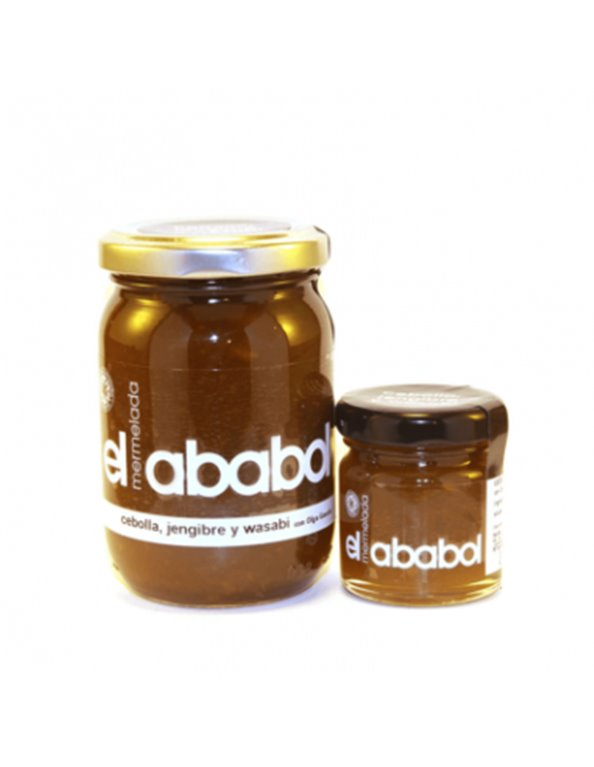 Mermelada de cebolla jengibre y wasabi Ababol