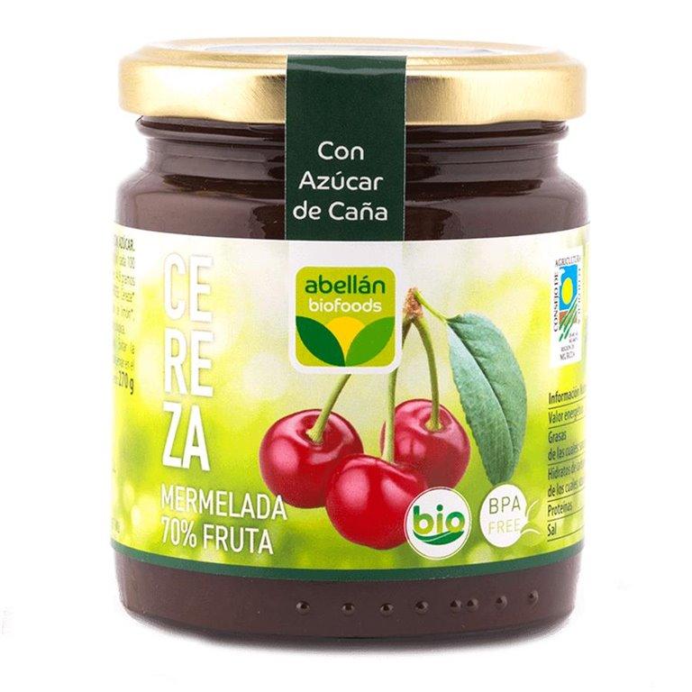 Mermelada de Cereza (con azúcar de caña)