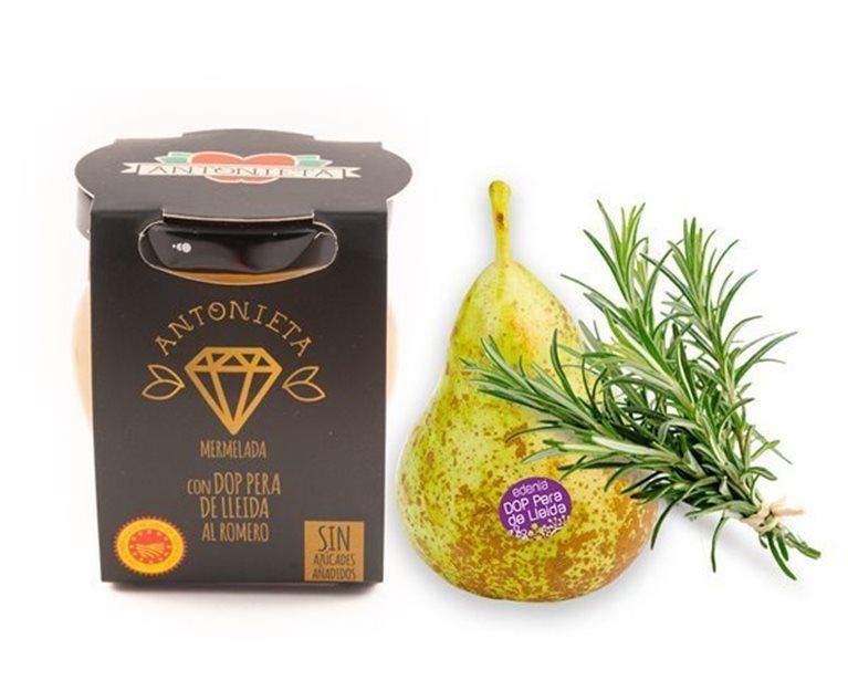 Mermelada de DOP pera de Lérida con romero, 230 gr