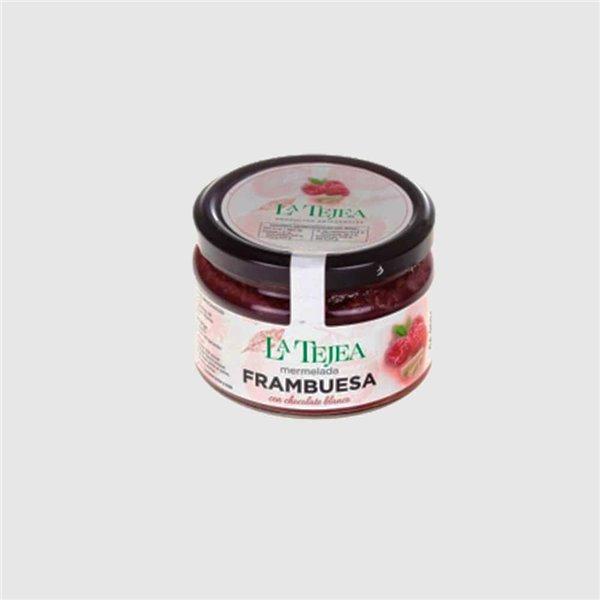 Mermelada de Frambuesa y Chocolate Blanco 270 g La Tejea