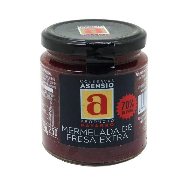 MERMELADA DE FRESA artesana extra Frasco 220 gramos