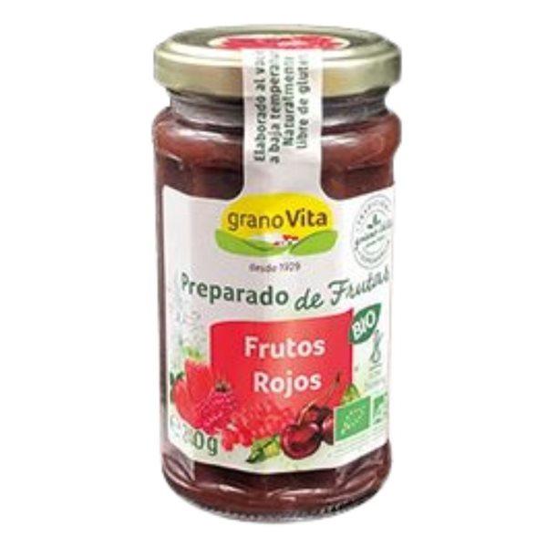 Mermelada de Frutos Rojos (Sin Azúcar) Bio 240g