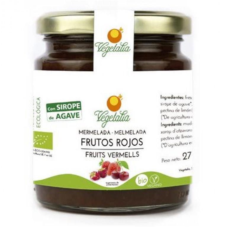 Mermelada de Frutos Rojos (Sin Azúcar) Bio 265g, 1 ud