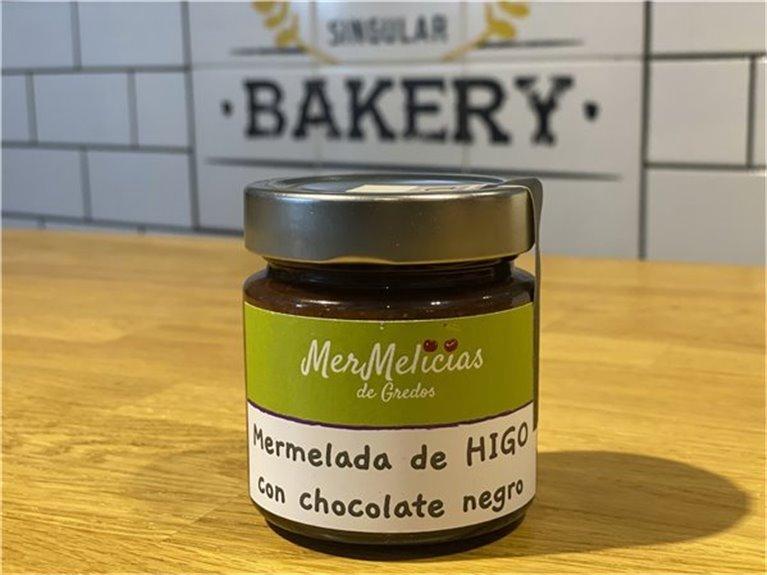 Mermelada de higos con chocolate negro - Mermelicias de Gredos