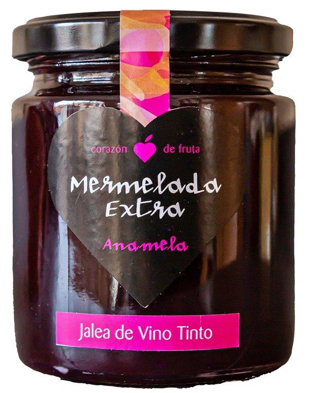 Mermelada de jalea al vino tinto