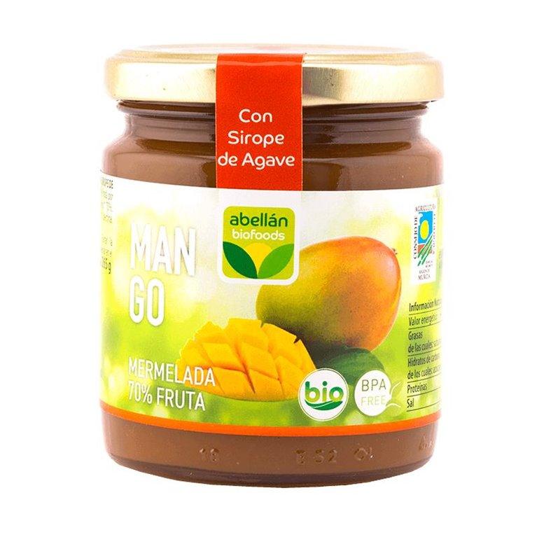 Mermelada de Mango (con sirope de agave)