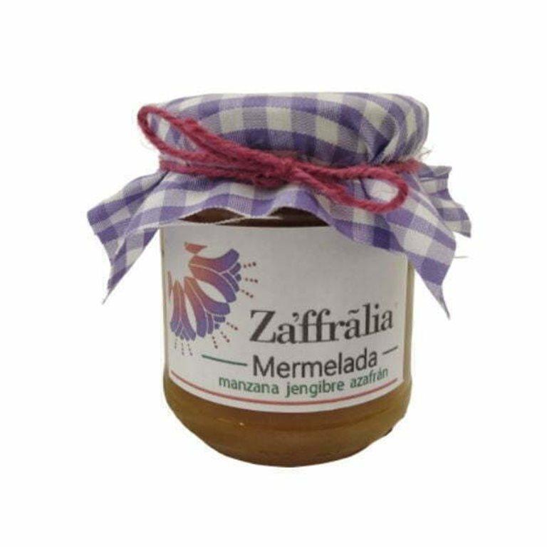 Mermelada de manzana y jengibre con azafrán 250gr - Zaffralia