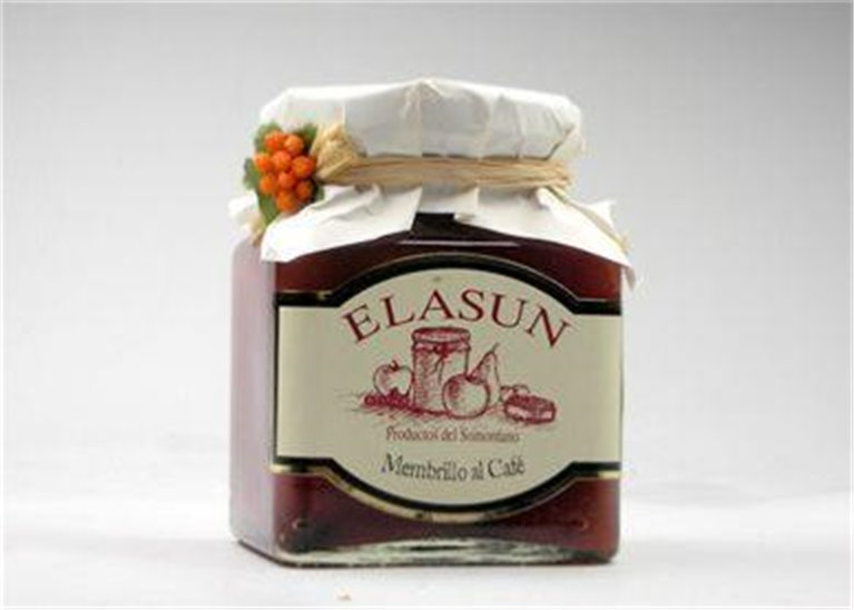Mermelada de mebrillo al café Elasun, 1 ud