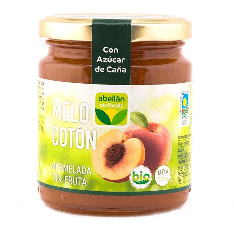 Mermelada de Melocotón (con azúcar de caña)
