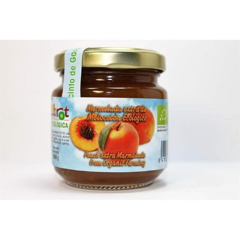 Mermelada de melocotón con ágave (sin azúcar) - Biolobrot