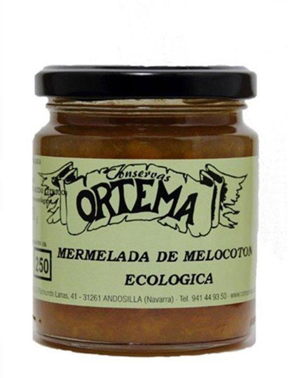 Mermelada de Melocotón Ecológica, 1 ud