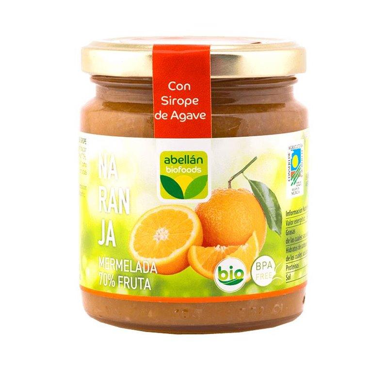 Mermelada de Naranja (con sirope de agave)