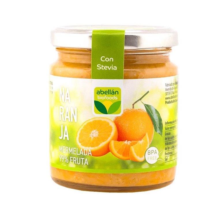 Mermelada de Naranja (con stevia)