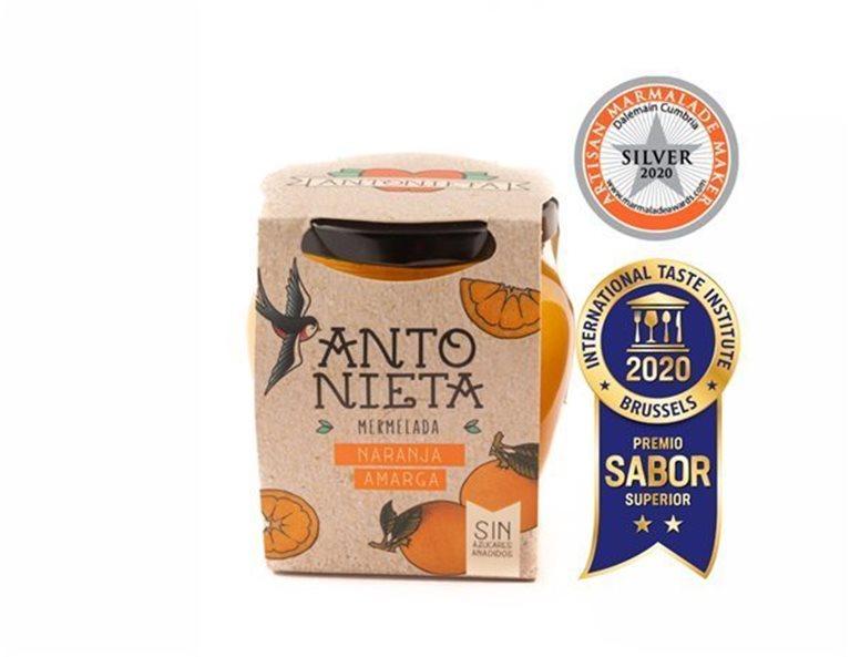 Mermelada de naranja amarga, 230 gr