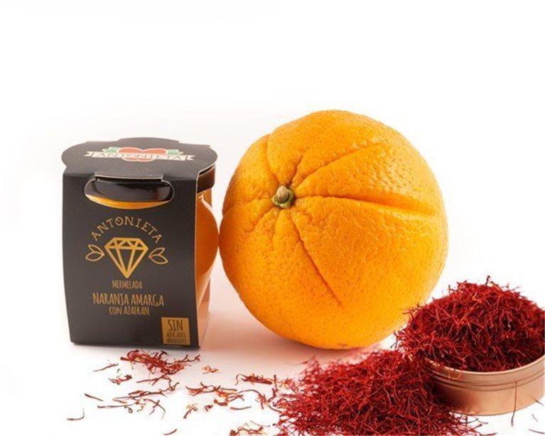 Mermelada de naranja amarga azafrán, 230 gr