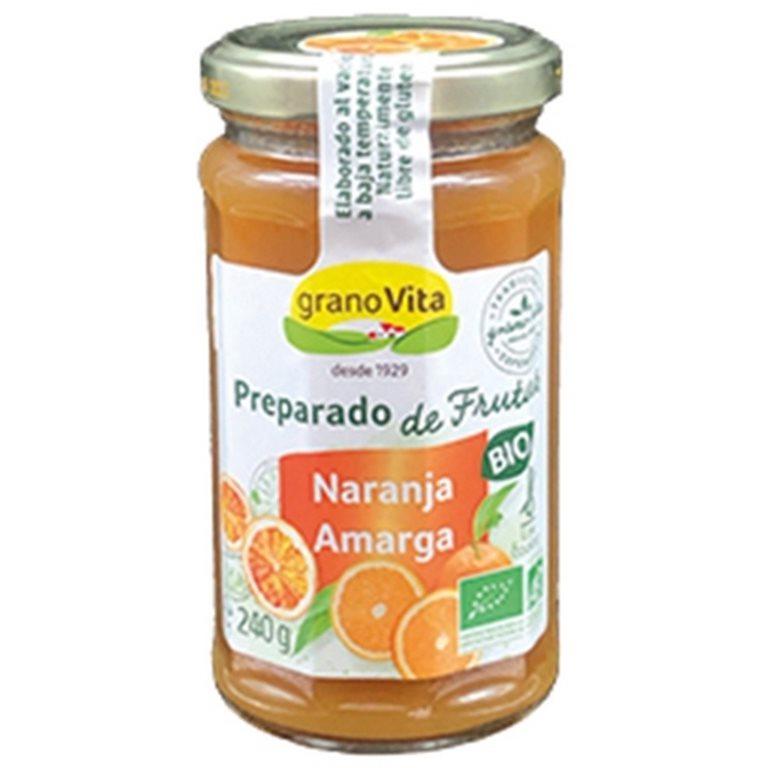 Mermelada de Naranja Amarga (Sin Azúcar) Bio 240g