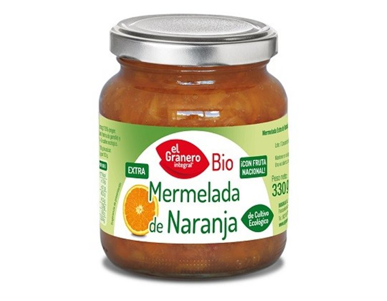 Mermelada de Naranja Amarga (Sin Azúcar) Bio 330g