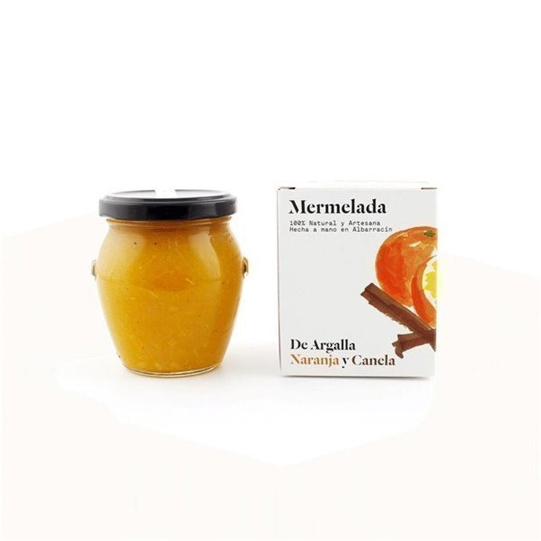 Mermelada de naranja y canela