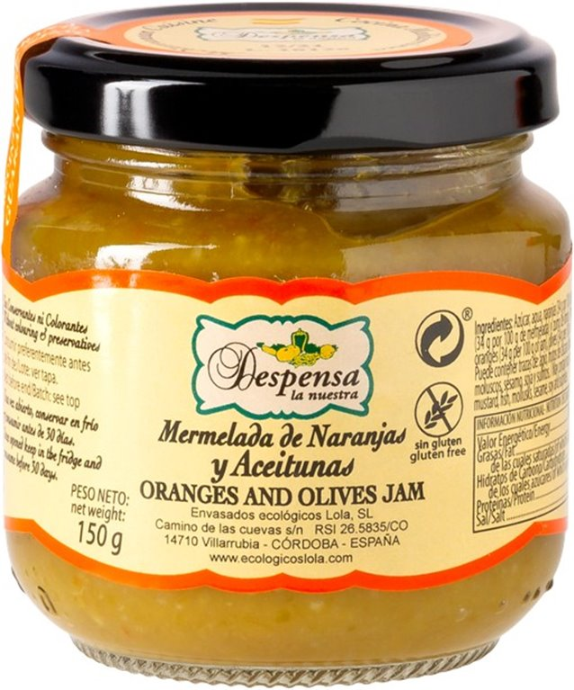Orange and Olive Marmalade