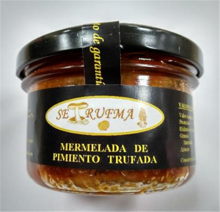 Mermelada de pimiento trufada Setrufma, 1 ud